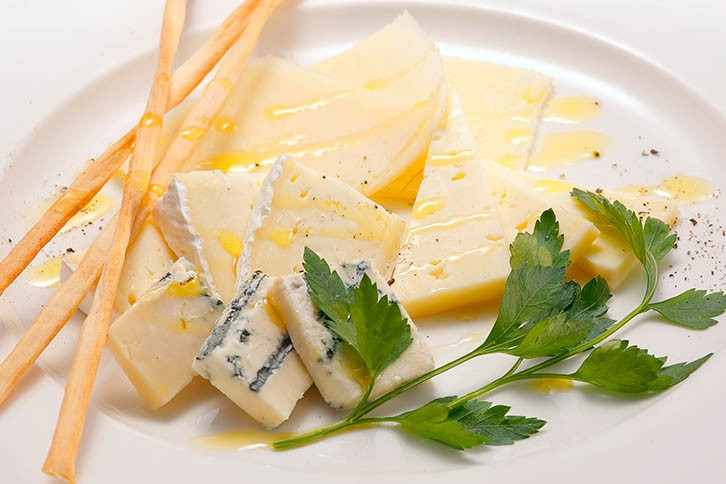 チーズの盛り合せ