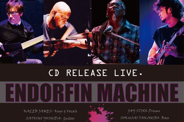 ENDORFIN MACHINE CD RELEASE LIVE