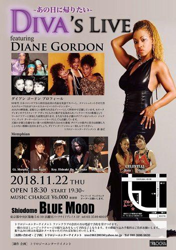 Diva's Live  featuring DIANE GORDON