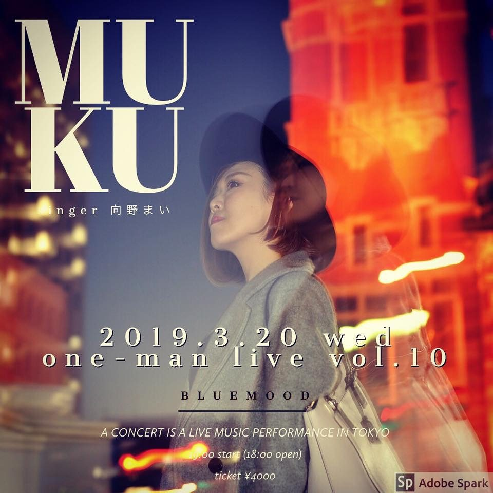 MUKU one-man  live Vol.10