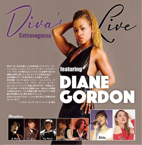 Diva's Live Extravaganza featurring DIANE GORDON