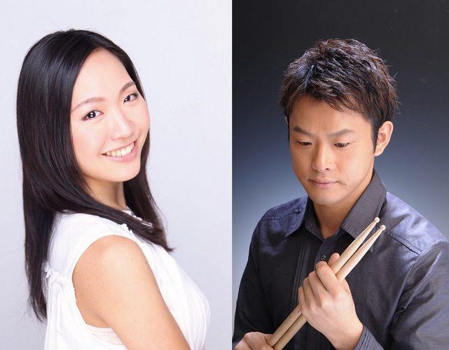 岡田美優 Talk&Live  ピアノ 田上友理   ゲスト ドラム&パーカッション 渡部聡司