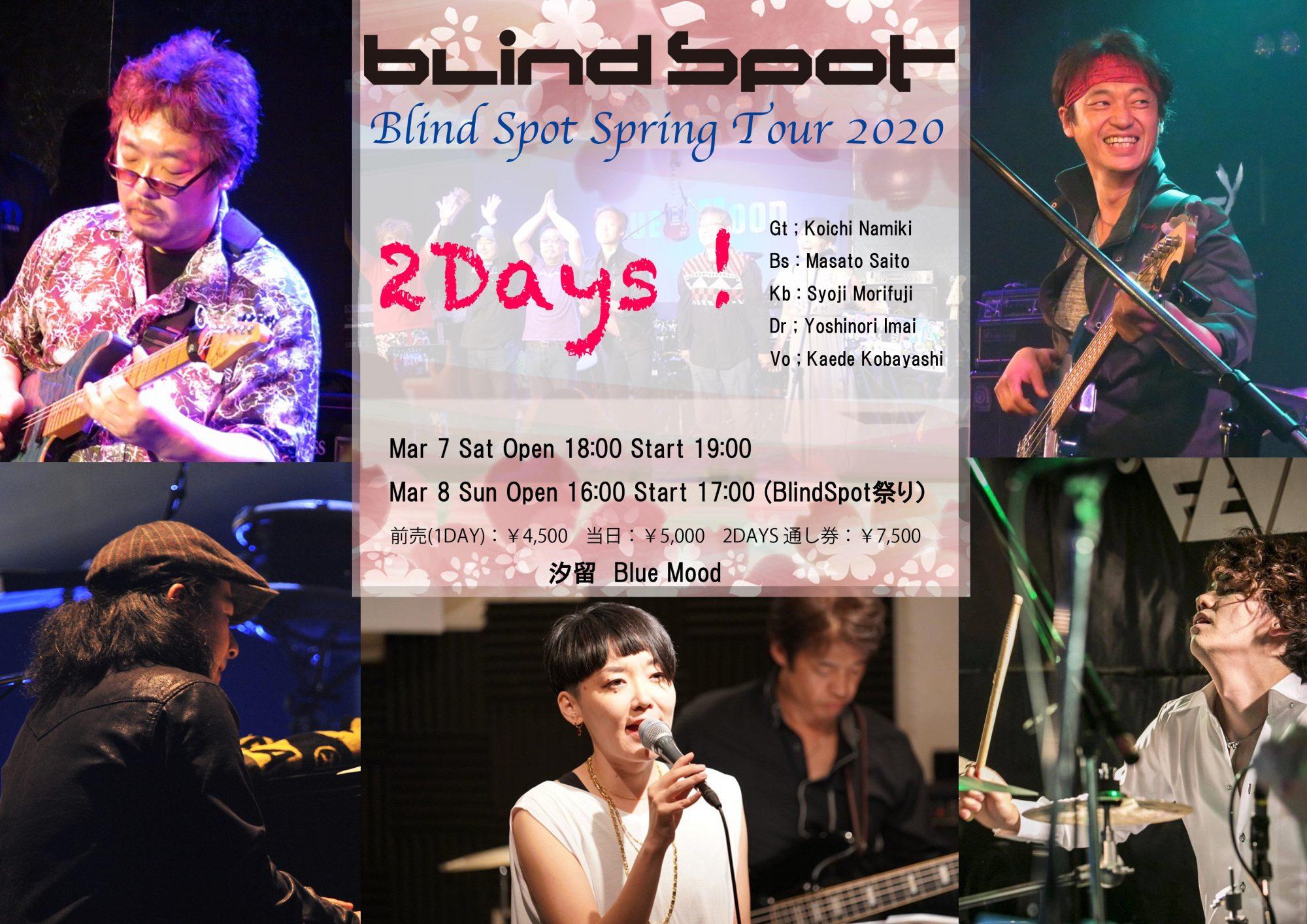 Blind Spot Spring Tour 2020