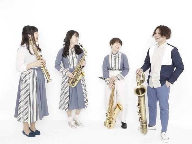 Pash Saxophone Quartet Talk & Live