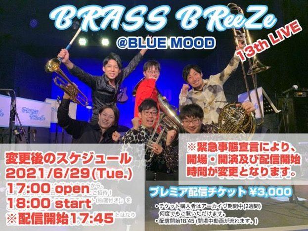 BRASSBReeZe 13th LIVE