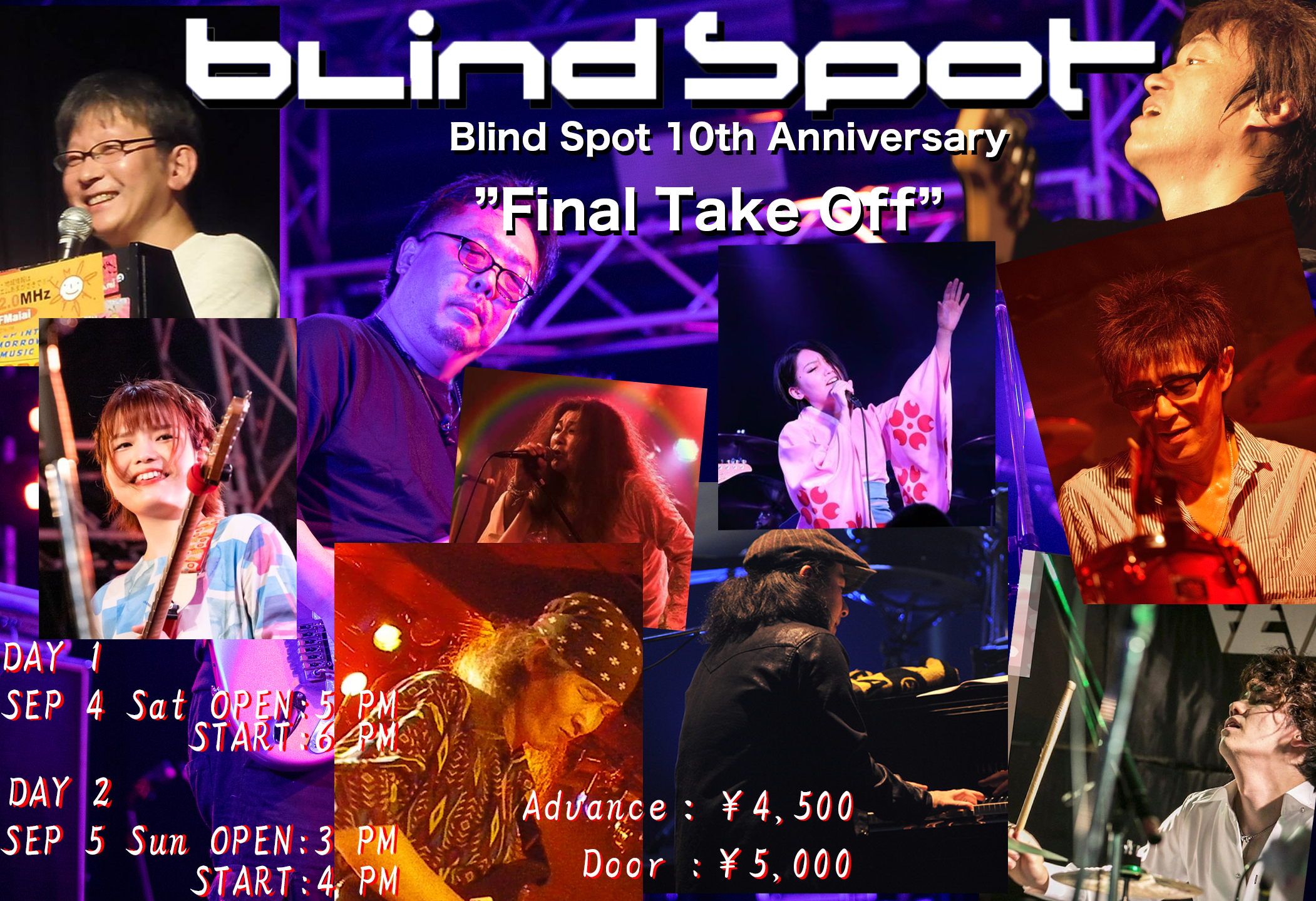 """Blind Spot 10th Anniversary """"Final Take Off""""   Day1"""